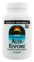 Source Naturals - Aller-Response, 90 Tablets