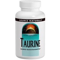 Source Naturals - Taurine, 500 mg, 120 Tablets