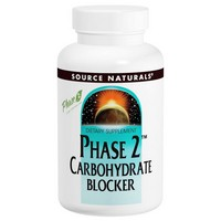 Source Naturals - Phase 2 Carbohydrate Blocker, 500 mg, 120 Wafers