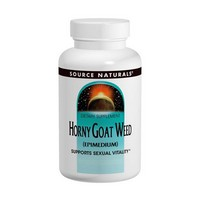 Source Naturals - Horny Goat Weed (Epimedium), 1,000 mg, 60 Tablets