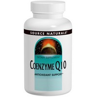 Source Naturals Coenzyme Q10 200mg 60 softgel