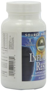 Source Naturals - Inflama-Rest, 60 Tablets