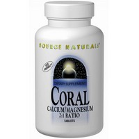 Source Naturals - Coral, Calcium/Magnesium 2:1 Ratio, 90 Tablets