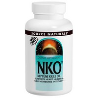 Source Naturals, NKO, Neptune Krill Oil, 500 mg, 60 Softgels
