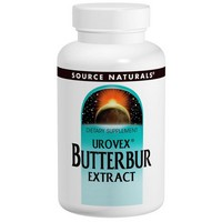 Source Naturals - Urovex Butterbur Extract, 60 Softgels