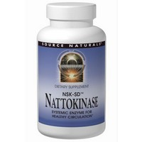 Source Naturals Nattokinase 36mg, 90 Softgels