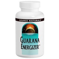 Source Naturals Guarana Energizer™ 900mg 60 tab